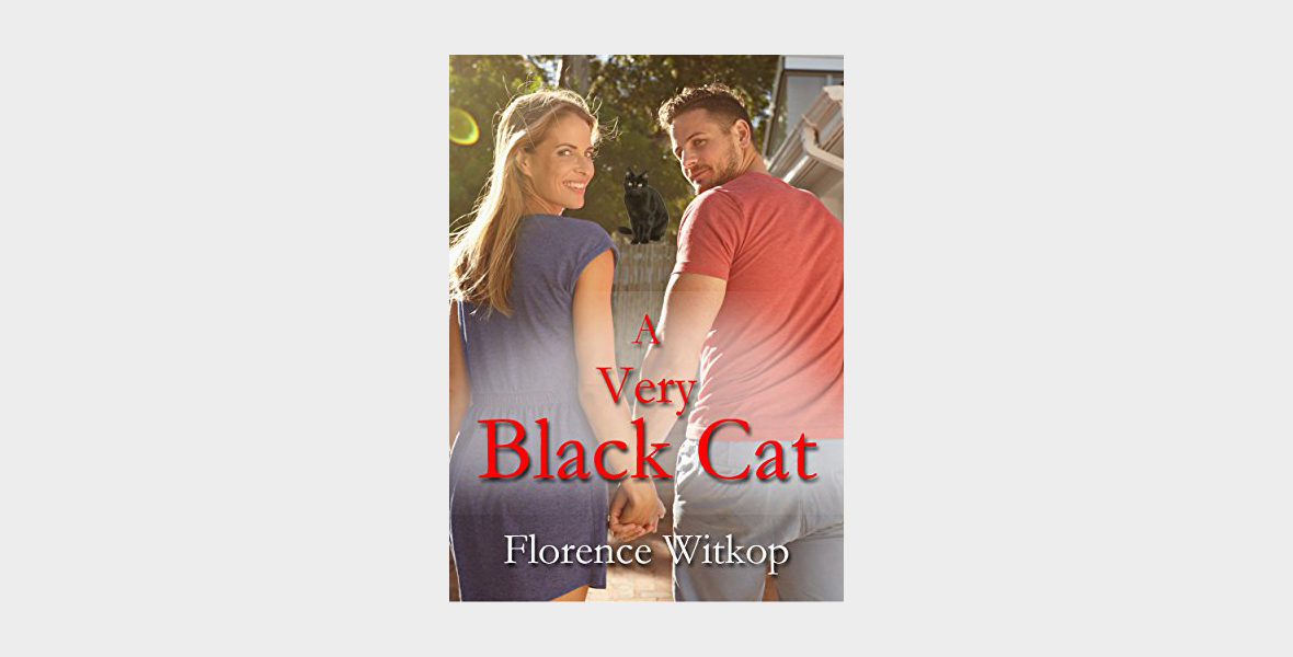 A Very Black Cat - A Novel by Florence Witkop